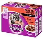Whiskas Junior Katzenfutter Fleischau...