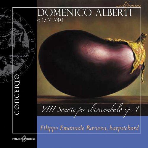 Domenico Alberti VIII Sonate Clavicembalo Op 1