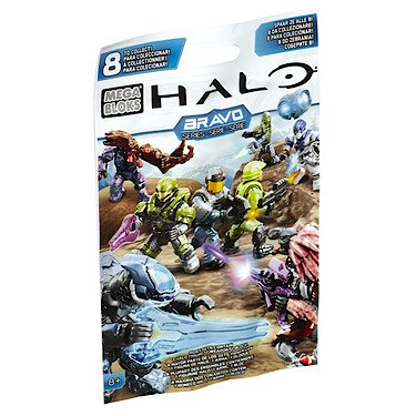 Mega Bloks Halo Micro Bravo Series Blind Pack Mystery Figure, Characters may vary - 1