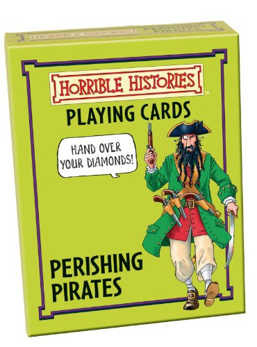 Cheatwell Games Horrible Histories Card Game Perishing Pirates