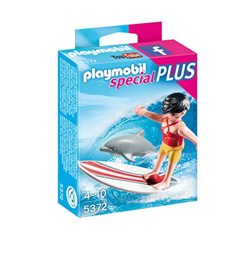 PLAYMOBIL Surfer with Surf Board Playset