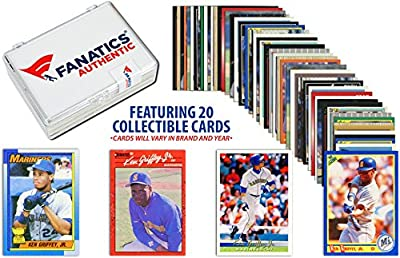Ken Griffey Jr. Seattle Mariners Collectible Lot of 20 MLB Trading Cards - Fanatics Authentic Certified