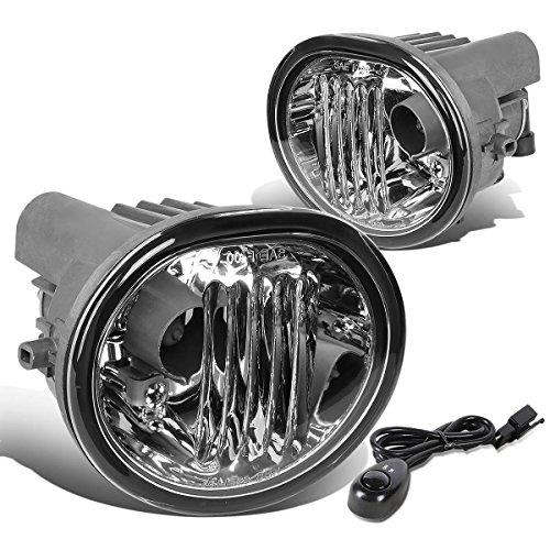 DNAMotoring FL-T054-CH Front Bumper Fog Light (Fog Light Pontiac Vibe compare prices)