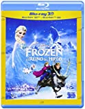 Frozen 3D El Reino Del Hielo Spanish (Spain) version [2-Disc: Blu-ray 3D + Blu-ray 2D] [Region Free] (2013)