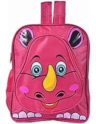 Blue Sky Polyester 18.5 Liters Pink School Backpack