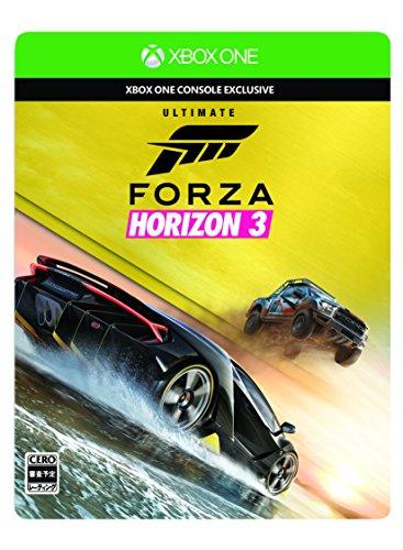 Forza Horizon 3 アルティメットエディション (【特典】アーリーアクセス・カーパス・VIPメンバーシップ・Motorsport All-Stars カーパック・Steelbook特製ケース &【早期購入特典】2015 Ferrari 488 GTB・2015 Challenger SRT Hellcatご利用コード 同梱) 【Amazon.co.jp限定特典】アイテム未定 付