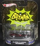 Hot Wheels Batman Classic TV Series Batmobile Die Cast Vehicle