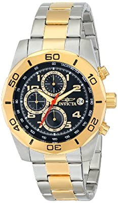 Invicta Men's 16081 Pro Diver Analog Display Japanese Quartz Two Tone Watch