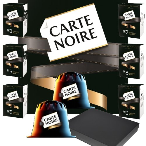 Choose  Carte Noire Nespresso Coffee Pods Variety Gift Box (24 Capsules, 6 Flavours) by Carte Noire