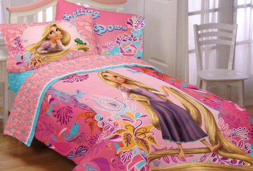 Find Discount Disney Tangled Let My Hair Down Twin/Full Comforter