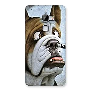 Enticing Big Face Dog Back Case Cover for LeTv Le Max