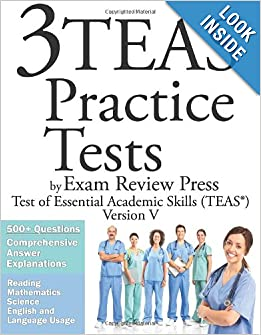 Downloads 3 TEAS Practice Tests by Exam Review Press: Test of Essential Academic Skills (TEAS) Version V
