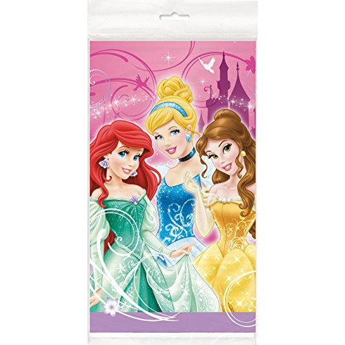 Disney Princess Plastic Table Cover - 1