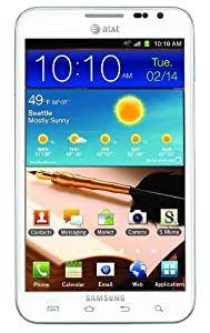 Samsung Galaxy Note I717 16GB Unlocked GSM Android Smartphone - White (AT&T Version)