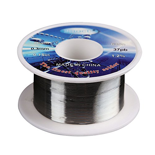 "Find Cheap MassMall 0.3mm 0.15"" Tin Lead Rosin Core Solder Soldering Wire Reel"