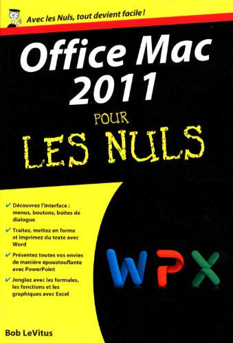 OFFICE MAC 2011..NULS (POCHE)