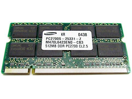 Samsung 512MB PC2700 CL2.5 DDR Memory M470L6524BT0-CB3 (Samsung Tv Customer Service compare prices)