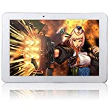 """Phablet 10.1"""" 10 Inch Android 4.4 KitKat Quad Core 2G 3G GSM WCDMA GPS Bluetooth Phone Tablet PC 2GB RAM 16GB ROM Dual 2 Sims Dual Camera Unlocked White/Black video review"""