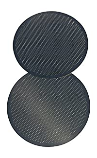 Aeropress Metal Coffee Filters (2-pack) - Permanent Filters For Coffee - Reusable, Made of Stainless Steel - Non breakable & Sturdy - Ideal For Travelers, Hikers, All Coffee lovers