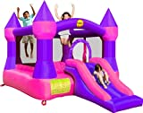 Duplay 12ft Turret Bouncy Castle complete with Airflow Fan (Pink)