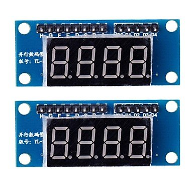 Zcl 4 Digit Led Display Module 8550 Parallel Triode Driving (2Pcs)