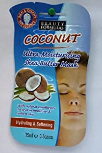 Beauty Formulas Coconut Ultimate Moisture Shea Butter (pack of 1)