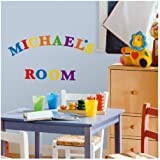 RoomMates RMK1253SCS Express Yourself Primary Colors Peel and Stick Wall Decals