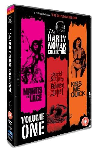 The Harry Novak Collection - Volume 1 (Mantis In Lace, The Secret Sex Lives Of Romeo & Juliet, Kiss Me Quick) [DVD] [1968]