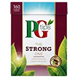 PG Tips The Strong One Pyramid Teabags - Pack of 4, Total 640 Teabags