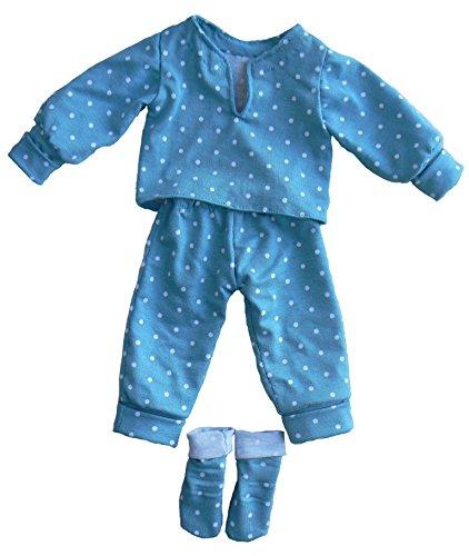 Kit à coudre tenue d'intérieur poupée 33 cm