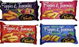 Pamela's Products Figgies and Jammies Cookies, 9 Ounce (1 Pack Each Variety)