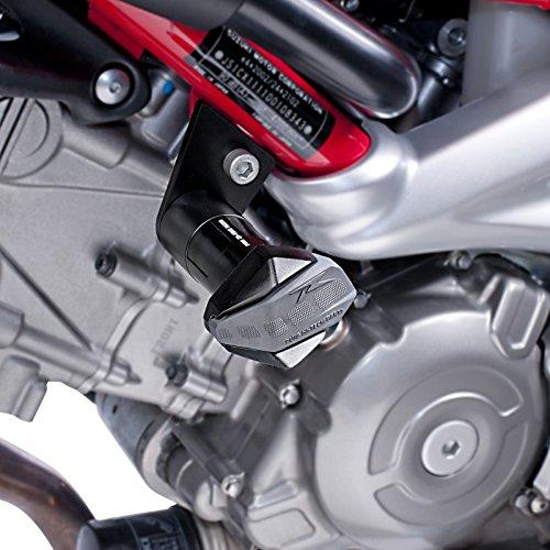 Roulettes de protection Puig Suzuki SV 650 2016 noir