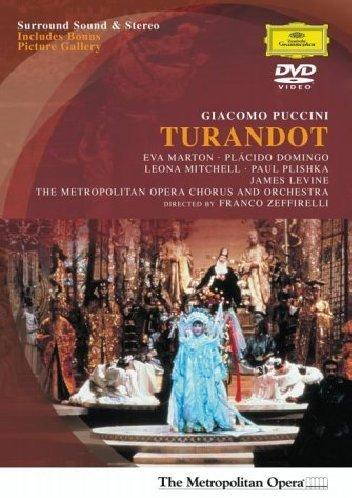 Turandot (Marton,Domingo/Levine) - Puccini - DVD
