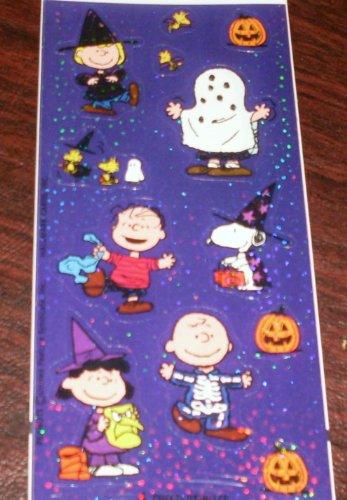 Peanuts Halloween Foil Stickers - 1