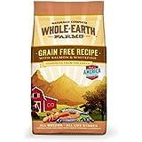 Whole Earth Farms Salmon and Whitefish Grain Free Recipe Pet Food, 25-Pound