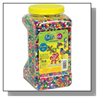 Perler Beads 22,000 Count Bead Jar Multi-Mix Colors by Perler Beads [Toys & Games]