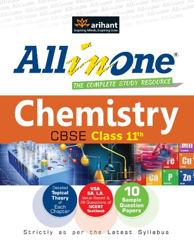 CBSE All in One Chemistry Class 11th