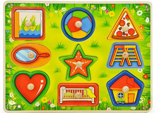 TOPBRIGHT Shape Learning Peg Puzzle
