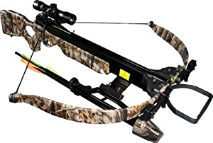 Jandao Chace-Star Recurve Hunting Crossbow with Scope Stringer Cocking Aid, 200-Pound... by Jandao