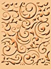 Cuttlebug A2 Embossing Folder, Musical Flourish