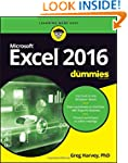 Excel 2016 For Dummies (Excel for Dum...