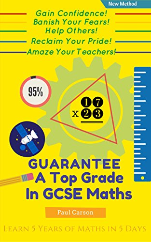 ebook: GUARANTEE a Top Grade at GCSE Maths (Higher Level): With Just 3 Rules! (B00LI5L5IM)