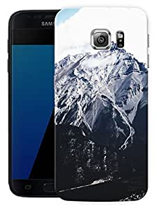 """Humor Gang Snow Cliffs Printed Designer Mobile Back Cover For """"Samsung Galaxy S7"""" (3D, Matte, Premium Quality Snap On Case)"""