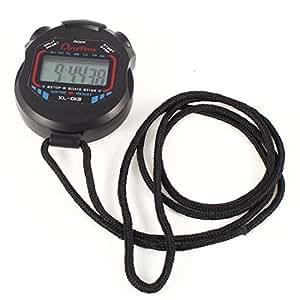 23Strap Battery Power Black Sports Training Match Timing Stopwatch