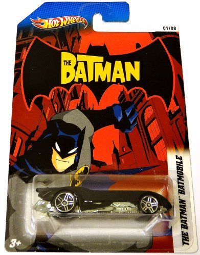 Hot Wheels 2012 BATMAN Series The Batman Batmobile 1 of 8 Black 1:64 Scale - 1