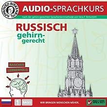 Russisch gehirn-gerecht: 1. Basis (Birkenbihl Sprachen) Hörbuch von Vera F. Birkenbihl Gesprochen von:  div.