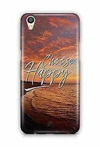 YuBingo Choose Happy Designer Mobile Case Back Cover for Oppo F1 Plus