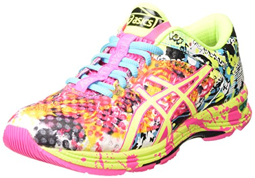ASICS Gel-noosa Tri 11 - Scarpe Running Donna, Rosa (hot Pink/flash Yellow/black 3407), 39 EU