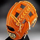XANAX 一般硬式内野手用 ザナパワーシリーズ 品番:BHG-4315S (オレンジ(20)/右投げ )