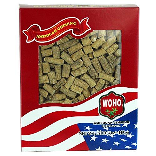 WOHO 中等大小的美国花旗参4oz,仅售$22.95
